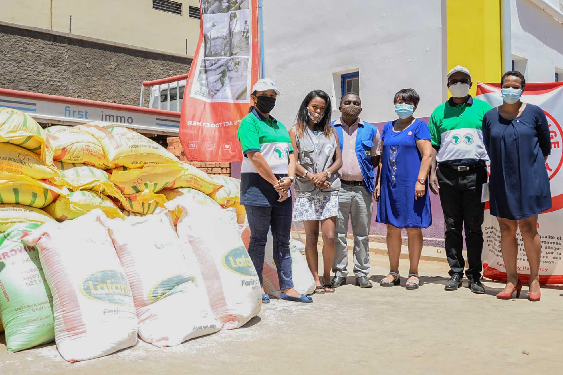 Donation de l'African Development Bank Group avec l'appui de la Croix-Rouge Malagasy