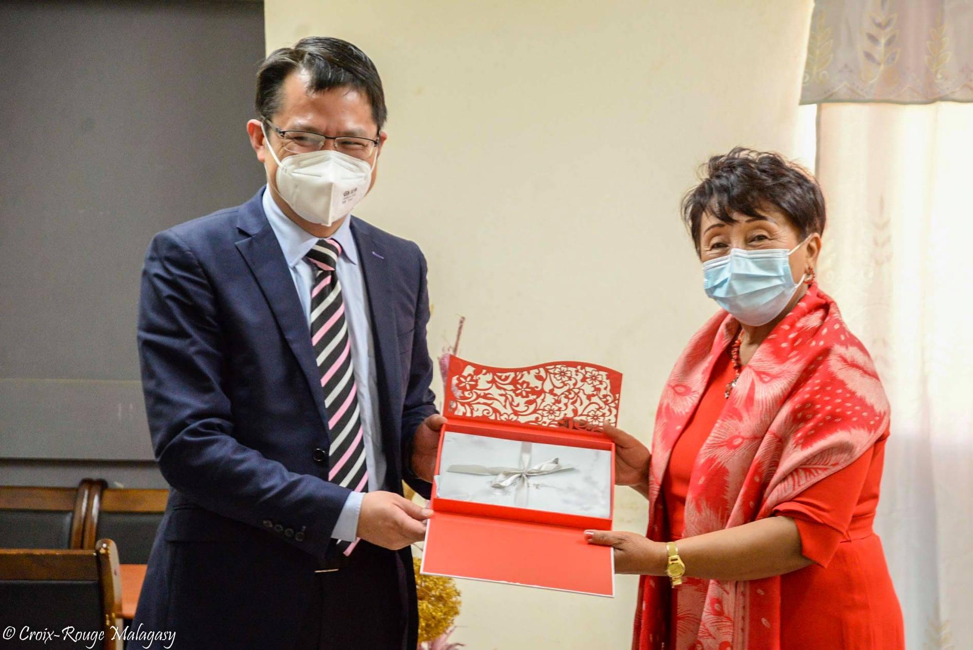 Visite de courtoisie par l'Ambassade de la République Populaire de Chine