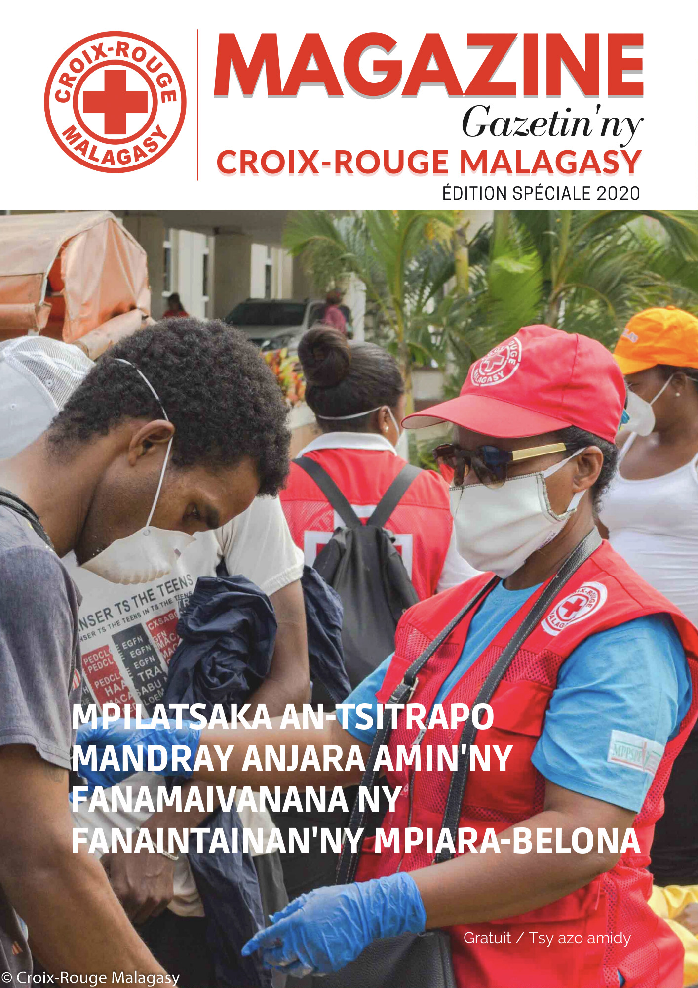 Magazine Croix-Rouge Malagasy 2020