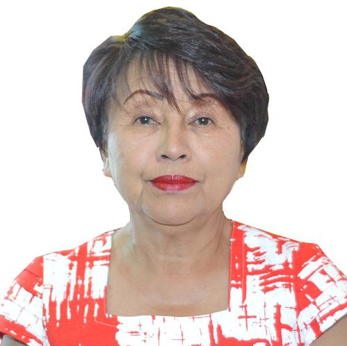 Alice RALISOA Présidente Nationale de la Croix-Rouge Malagasy