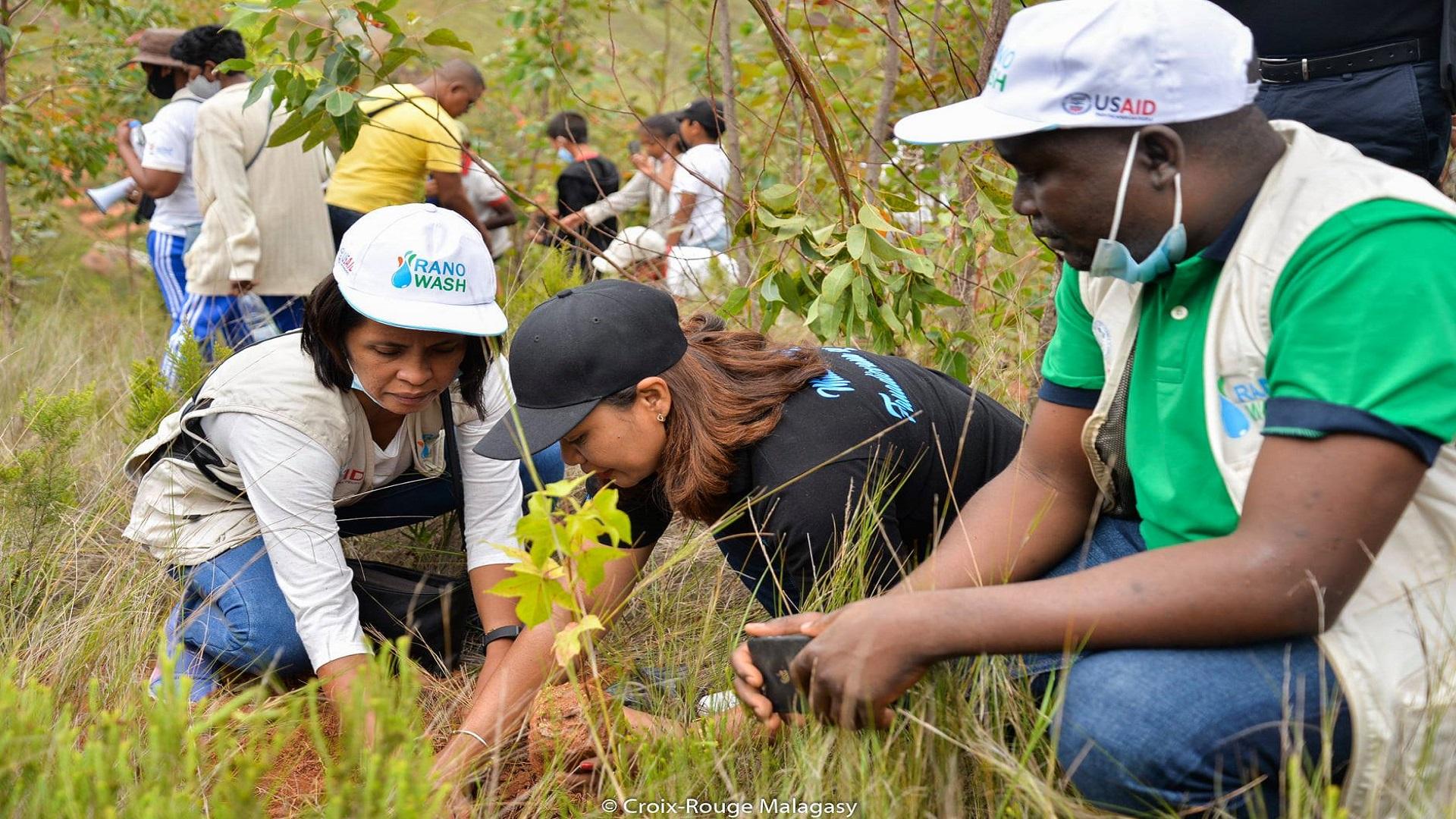 Croix-Rouge Malagasy face aux Changements climatiques